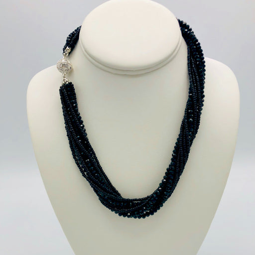 Necklace - Athena - Black