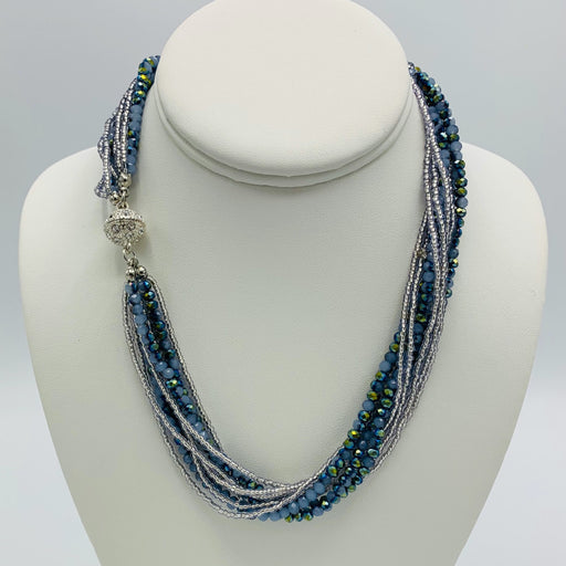 Necklace - Athena - Periwinkle