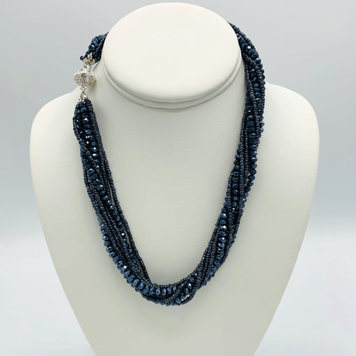 Necklace - Athena - Navy