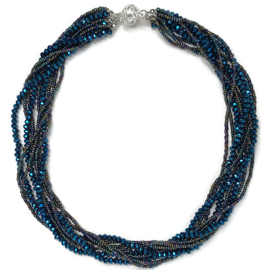 Necklace - Athena - Blue Cosmo