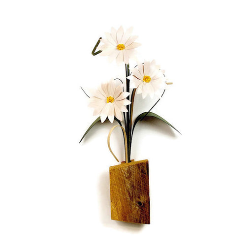 Hanging - Salvaged Series - Three Daisies - 216-88-DSY
