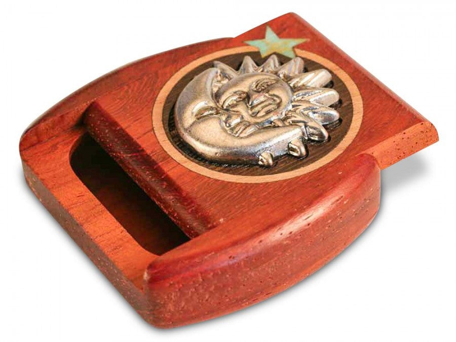 Secret Box - Gallery Series - Silverscapes - Sun and Moon - Padauk - 1/2x2x2 - SC2271-03