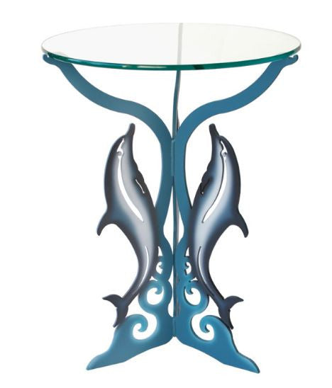 Table - Dolphins - Painted Steel
