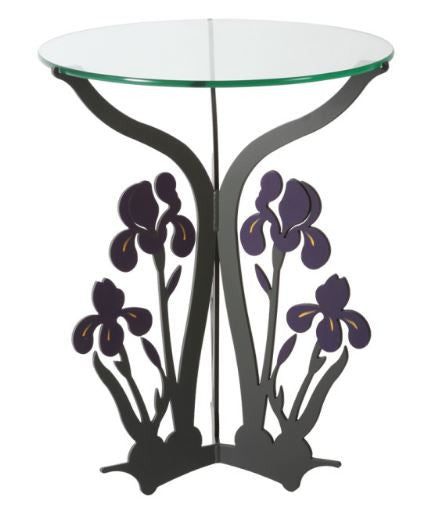 Table - Iris - Painted Steel