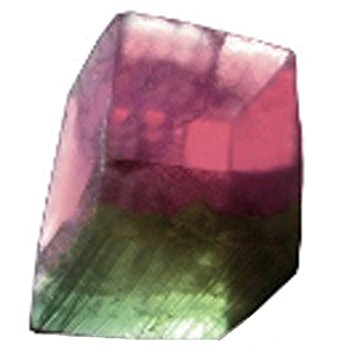 Soap Rock - Watermelon Tourmaline