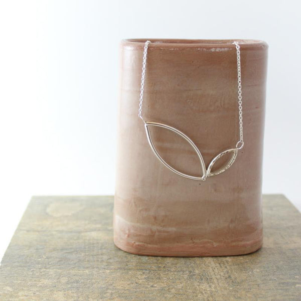 Christina Leaf Necklace