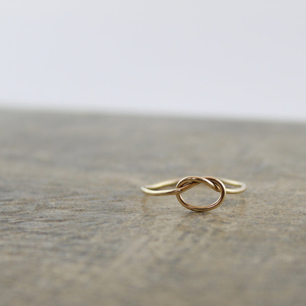 Lindsay Knot Ring - Gold