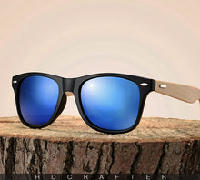 Wooden Bamboo Sunglasses For Men And Women - JustLiveHappyLife