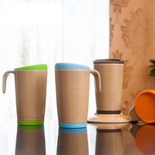 Coffee-Tea Mug Made Of Bamboo Fiber - As Strong As Plastic - JustLiveHappyLife