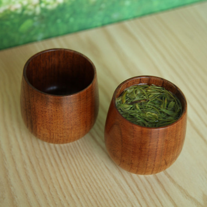 Handmade Natural Wooden  Tea Cup - JustLiveHappyLife