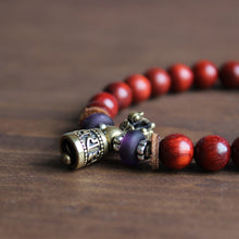 Tibetan Buddhism Wooden Mala Beads For Women And Men Handmade Bracelet - JustLiveHappyLife