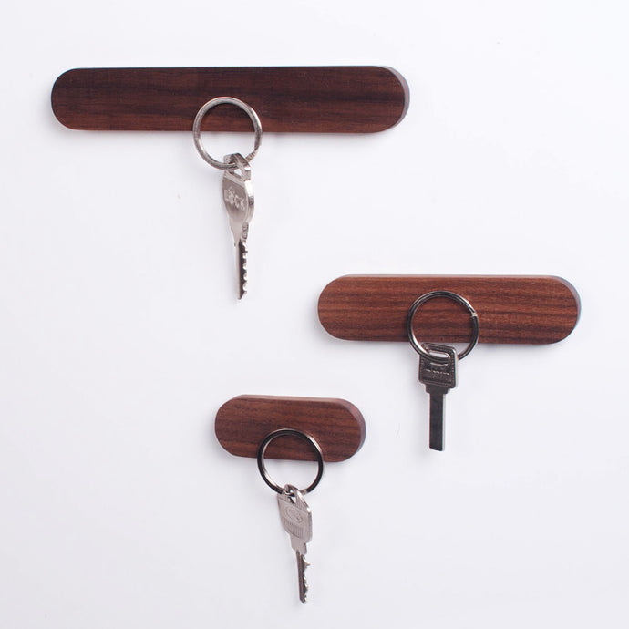 Wooden Magnetic Key Storage