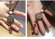 Handmade Wooden Jewelry -  Wood Beads Pendants, Necklaces For Women And Men - JustLiveHappyLife
