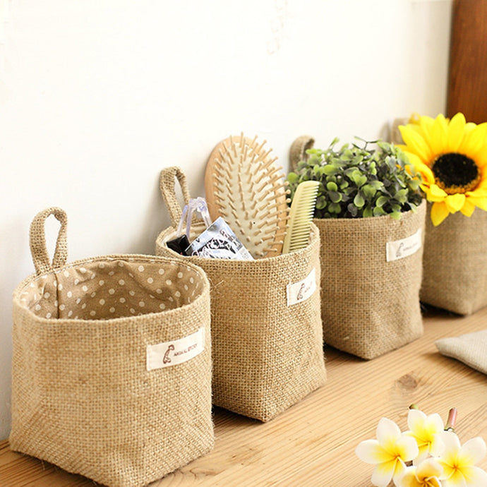 Cute Storage Bags Hanging Flowerpot Basket - JustLiveHappyLife
