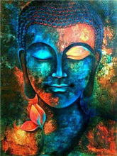 Diamond Painting Flower Buddha