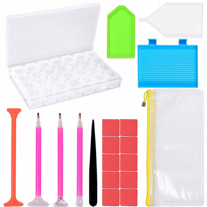 20 Pieces Diamond Painting Tools - DIY