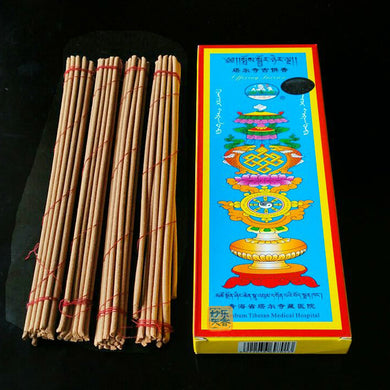 Handmade Tibetan Incense from Kumbum Buddhist Monastery - JustLiveHappyLife