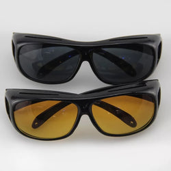 HD Night Vision  Wrap Around Glasses As Seen on TV HD Vision Day Sunglasses  And  Night Vision Glasses