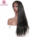 Haute Hair 360 Brazilian Lace Frontal Wig with Baby Hair  Straight Lace Human Hair Wigs For Women