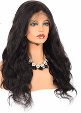 Haute Hair 360 Lace Frontal Human Hair Wig Brazilian Natural Body Wave For Women With Baby Hair