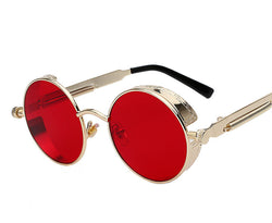 Steampunk Men Women Fashion Sunglasses  Retro Vintage UV400 Eyewear
