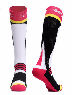 Snow Ski Socks Winter Cycling Socks Men and Women Outdoor Running Cycling Snowboarding Skiing Sport Socks Thermal Warmth