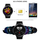 "Smart Watch iPhone iOS9  Android 5.1 MTK6580 Quad Core 1.39""inch Smartwatch With WIFI GPS SIM For Android iOS Smartphone"