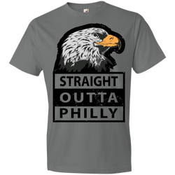 STRAIGHT OUTTA PHILLY Lightweight T-Shirt