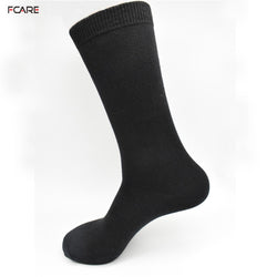 Cotton Men Socks Dress Socks Long Leg Business Black Socks    8 Piece  or 4 pairs long leg black Socks