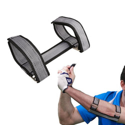 Golf Training Swing Hand Practice Aid or Straight Elbow Brace Posture Corrector Arc Support Golfing Accessory