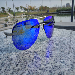 Hot Rays Aviation Sunglasses Men Classic Navy Air Force Sunglasses HD VISION Hipster Men Vision Wear LVVKEE