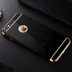 Luxury Ultra Thin Shockproof Phone Cover Case For Apple iPhone 7 Plus For iPhone 6 6S Plus For iphone5 5S SE Coque Capa For Ipho