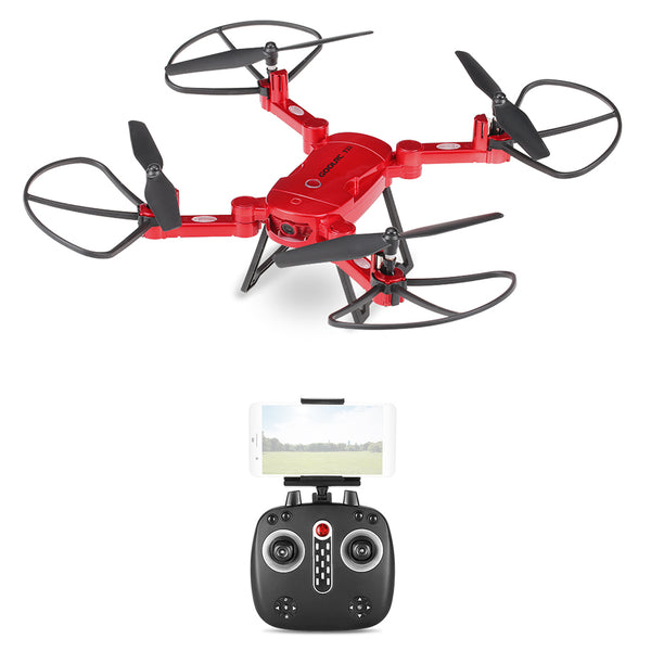 ZONE OF DRONE  GoolRC T32 Wifi FPV 720P HD Camera 2.4G 4CH 6-Axis Gyro Foldable RC Quadcopter Height Hold G-Sensor Selfie Drone