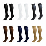 Comfort Compression Varicose Vein Leg Pain Relief  Nylon Pressure Knee High Support long Sockings