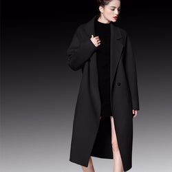High-End Fashion Cashmere Women's Winter Coat