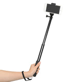 Aluminum Portable Selfie Stick  With Phone Holder For Mobile Phone 30cm to 90cm Shoot