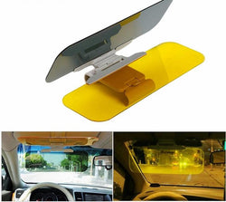 Anti-Glare Auto HD Sun Visor For Day and Night Vision Driving Gives HD Clear View