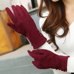 Touch Screen Gloves 5 Colors Fashion Women  Winter Warm Gloves Mittens winter gloves
