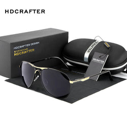 Fashion Polarized men's Sun Glasses  UV400 Brand Designer with High Quality