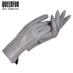 Women Winter Real Leather Gloves