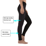 Yoga Pants Brown Stripes Full Length Quick Dry Breathable Sportswear Exercise Running Outdoor Casual Women Tights