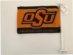 Oklahoma State Car Flag