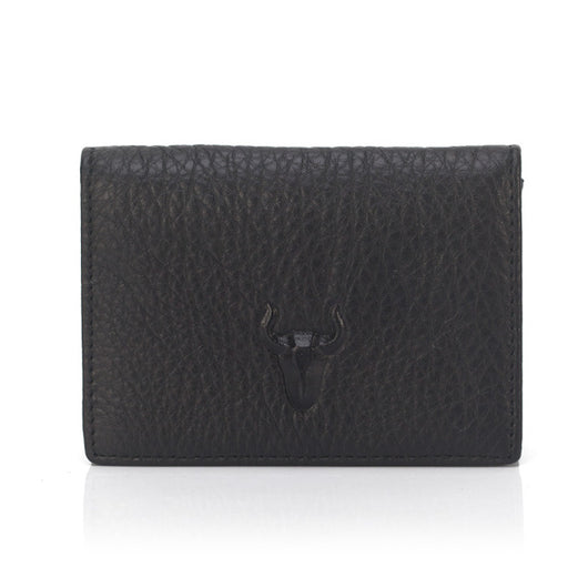 Unisex Business Card Case Genuine Leather Bank Card Cowhide Wallet