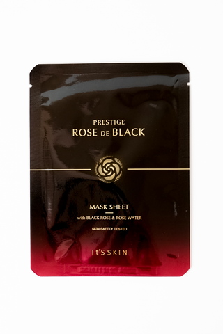 Prestige Rose De Black Mask Sheet