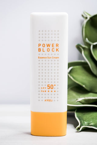 Skincare - A'Pieu Power Block Essence Sun Cream - SPF 50+ PA++++