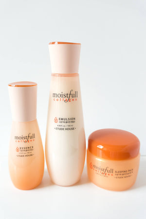 Skincare - Etude House Moistfull Collagen PM Set