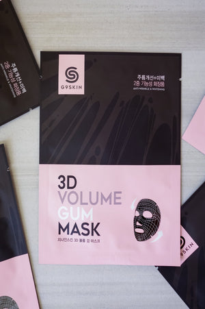 Skincare - G9 Skin 3D Volume Gum Mask - 1 Box Of 5 Masks