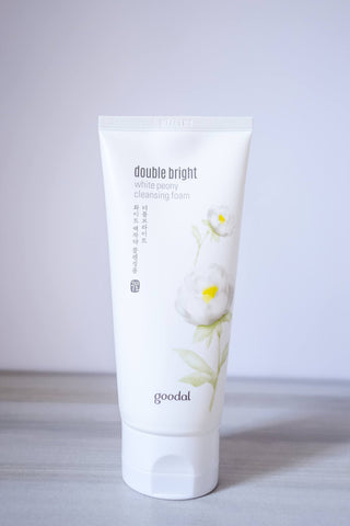 Skincare - Goodal Double Bright White Peony Cleansing Foam