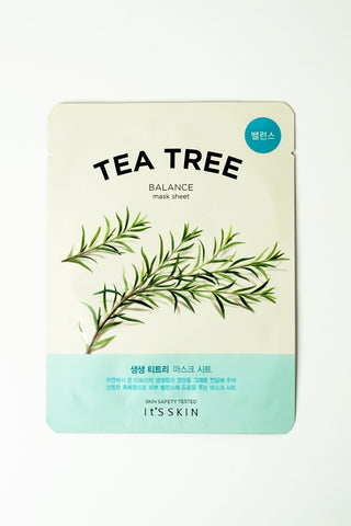 Skincare - It's Skin The Fresh Mask Sheet - Tea Tree
