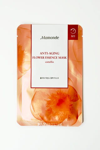 Skincare - Mamonde Flower Essence Mask - Camellia